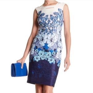 NEW Taylor Breathtaking Floral Dress Size 10
